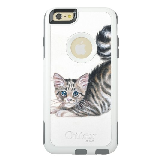 yoga kitten OtterBox iPhone 6/6s plus case