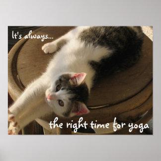 Yoga Kitten - Poster