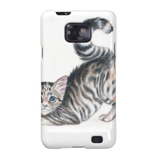 yoga kitten samsung galaxy s2 case