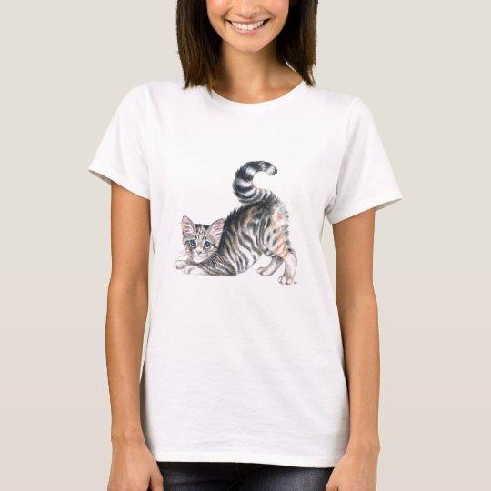 yoga kitten stretch T-Shirt