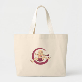 Yoga Large Tote Bag