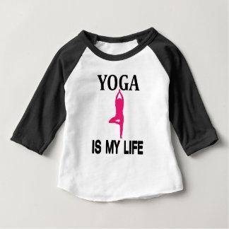 YOGA LIFE design cute Baby T-Shirt