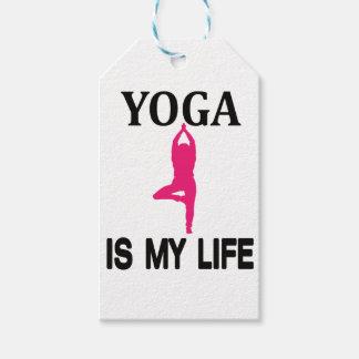 YOGA LIFE design cute Gift Tags