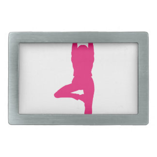YOGA LIFE design cute Rectangular Belt Buckles