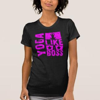 Yoga - Like a Boss Ladies T-shirt