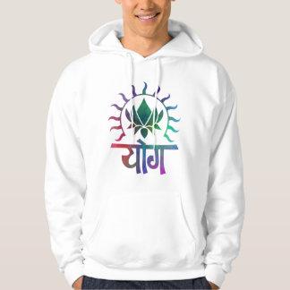 Yoga Lotus Flower Hoodie