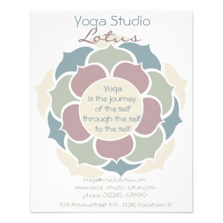 Yoga Lotus Flyer