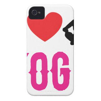 yoga love girl cute iPhone 4 covers