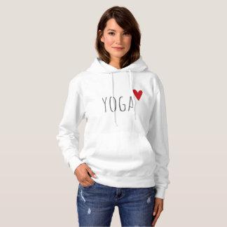 yoga love hoodie