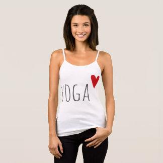 yoga love tank