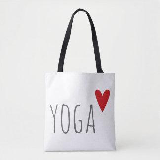 yoga love tote