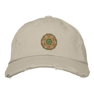 Yoga Mandala Embroidered Cap