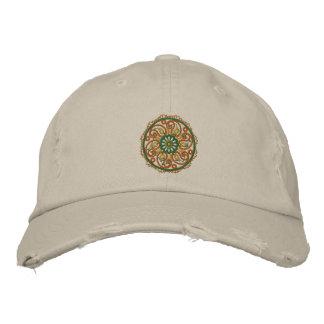 Yoga Mandala Embroidered Cap Embroidered Hats