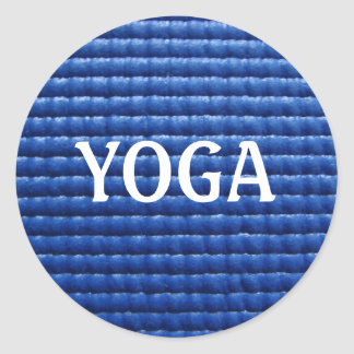 Yoga Mat Sticker