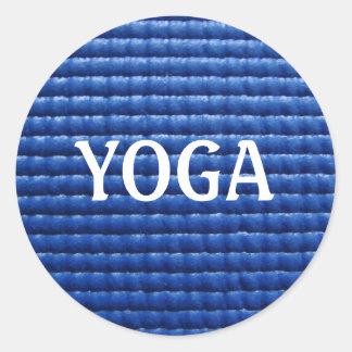 Yoga Mat Sticker
