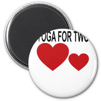 YOGA MATERNITY FOR TWO . MAGNET