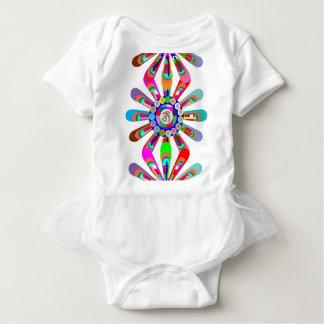 Yoga Maya : Dancing OmMANTRA om mantra Hinduism Baby Bodysuit