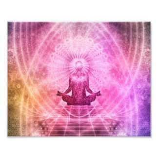 Yoga Mediation Photographic Print