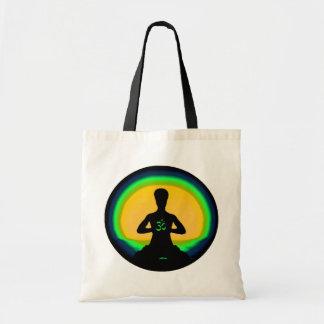 Yoga Meditation Budget Tote Bag