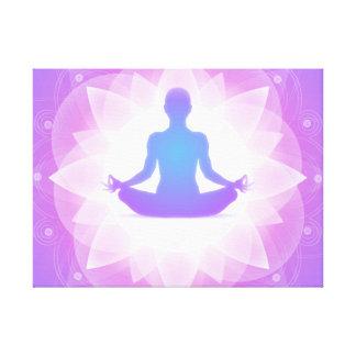 Yoga Meditation Canvas Print