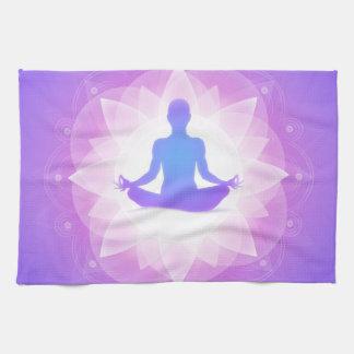 Yoga Meditation Kitchen Towels