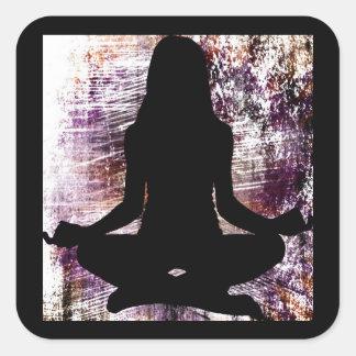 Yoga Meditation OHM Stickers