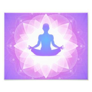 Yoga Meditation Photo Art