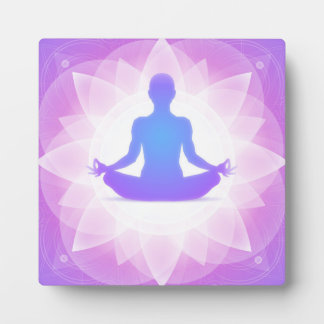 Yoga Meditation Plaque