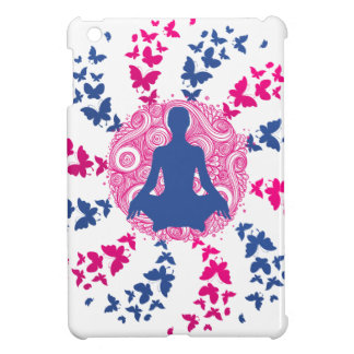 yoga meditation positive energy  peace of mind iPad mini covers
