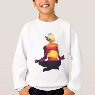 Yoga meditation sweatshirt
