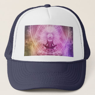 Yoga Meditation Trucker Hat