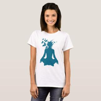 yoga,mind,meditation,peace,free,happy,positive T-Shirt