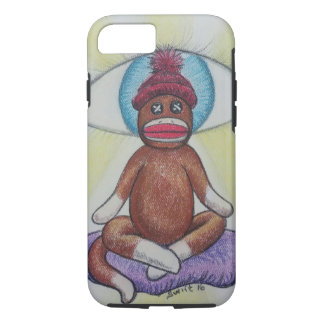 Yoga Monkey iPhone 7 Case