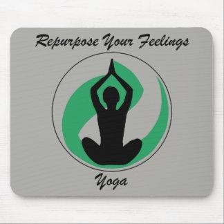 Yoga Mousepad Feelings