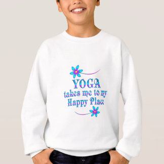 Yoga My Happy Place Sweatshirt