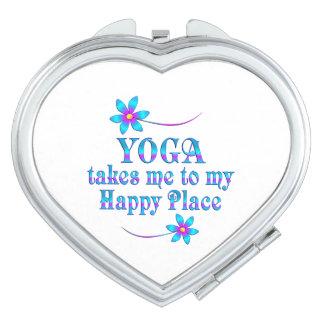 Yoga My Happy Place Vanity Mirror