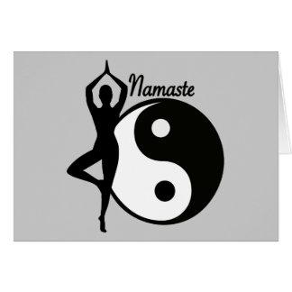 Yoga Namaste Card