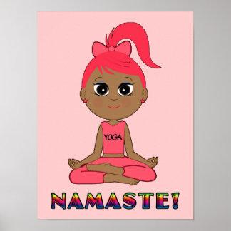Yoga Namaste Poster