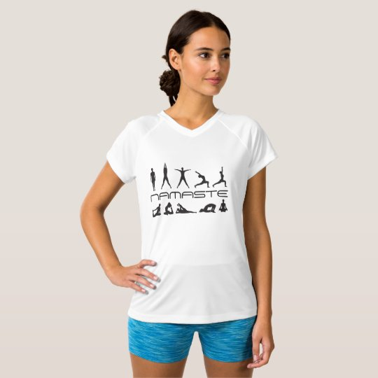 Yoga Namaste Work Out T-Shirt
