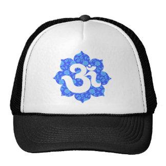 Yoga Om in Lotus dark blue Trucker Hat