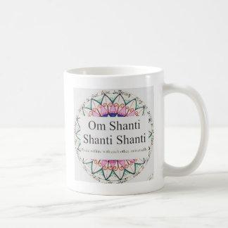 Yoga OM Shanti Mug