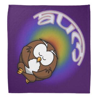 yoga owl bandana