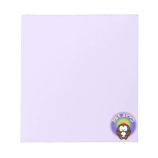 yoga owl notepads