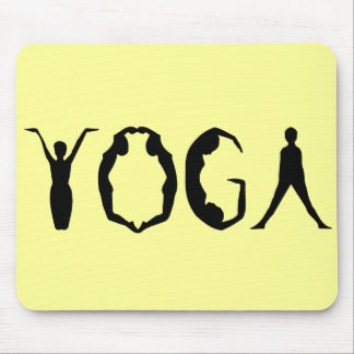 Yoga People Mouse Pad