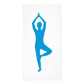 Yoga Photo Card Template