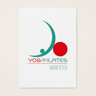 Yoga Pilates - Business Card