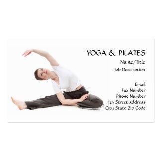 Yoga & Pilates Instructor/Health & Fitness Business Card