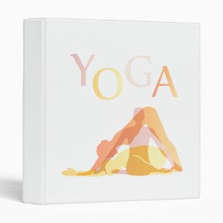 Yoga poses binder