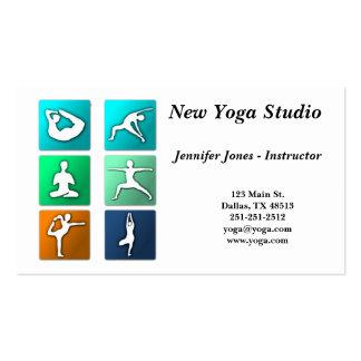 Yoga Poses Business Card