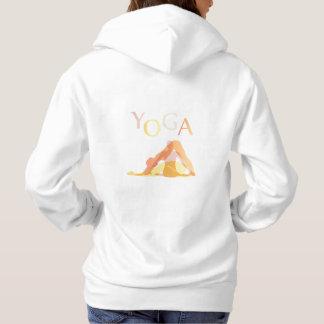 Yoga poses hoodie